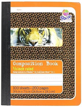 Amazon.com : Pacon Composition Book, 9 3/4