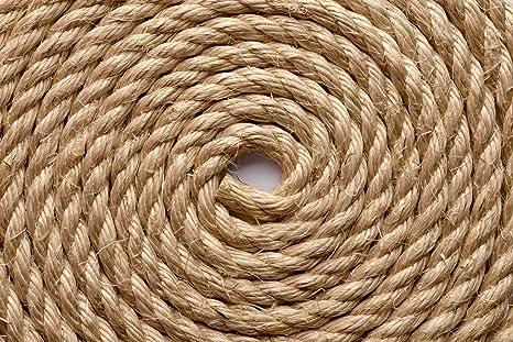 Decking 32mm x 16 Metres Synthetic Sisal 3 Strand Decking Rope Sisal Rope