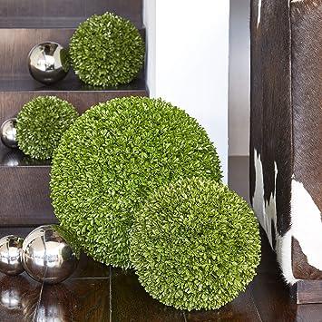Klocke Kunstpflanzen Hochwertige & Künstliche Buchsbaumkugel - Standard Buchskugel: Ø 30cm - Naturgetreu & Wetterfest - Dicht