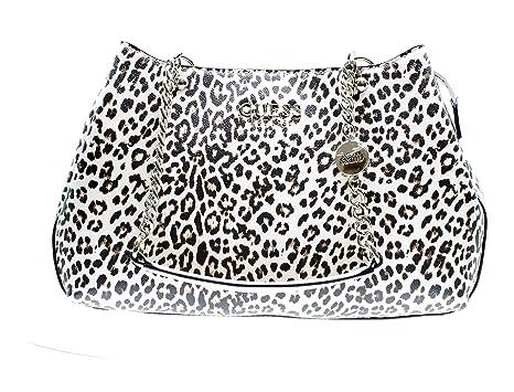 Guess Lorenna Girlfriend Satchel Leopard: Amazon.it: Scarpe