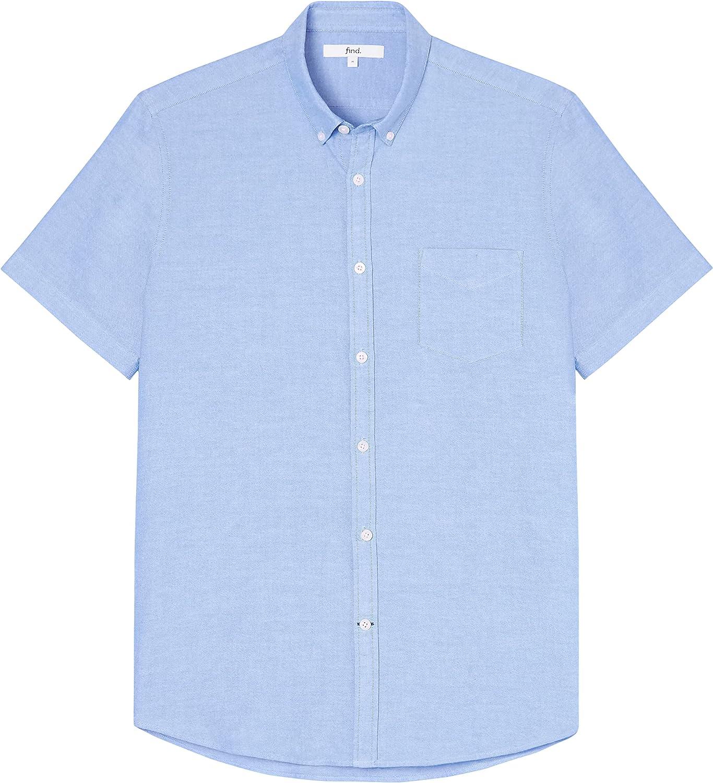 find Marchio Camicia Oxford a Manica Corta Uomo
