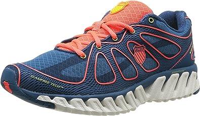 k-swiss Zapatillas Running Blade Max Express Mrccn, color Azul Indigo / Coral Neón, talla EU 44.5: Amazon.es: Zapatos y complementos