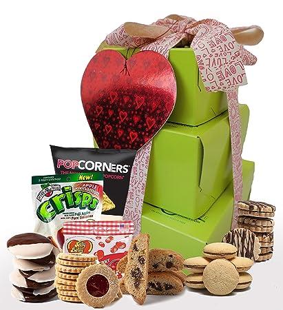 Amazon my love kosher valentine gift box valentine day kosher valentine gift box valentine day cookies gluten free valentine treats negle Choice Image