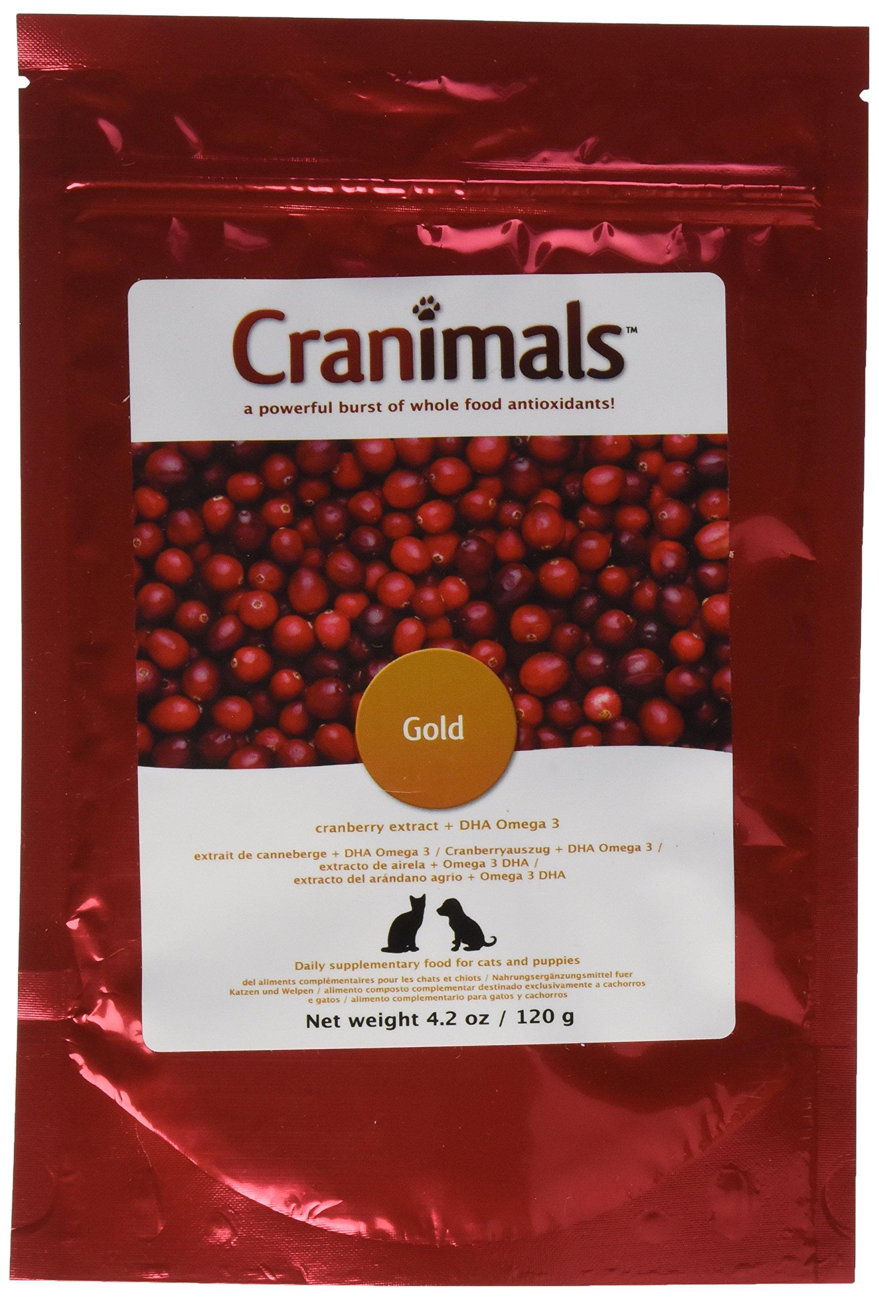 Cranimals Gold Herbal Supplement, 4.2 Ounce by Cranimals