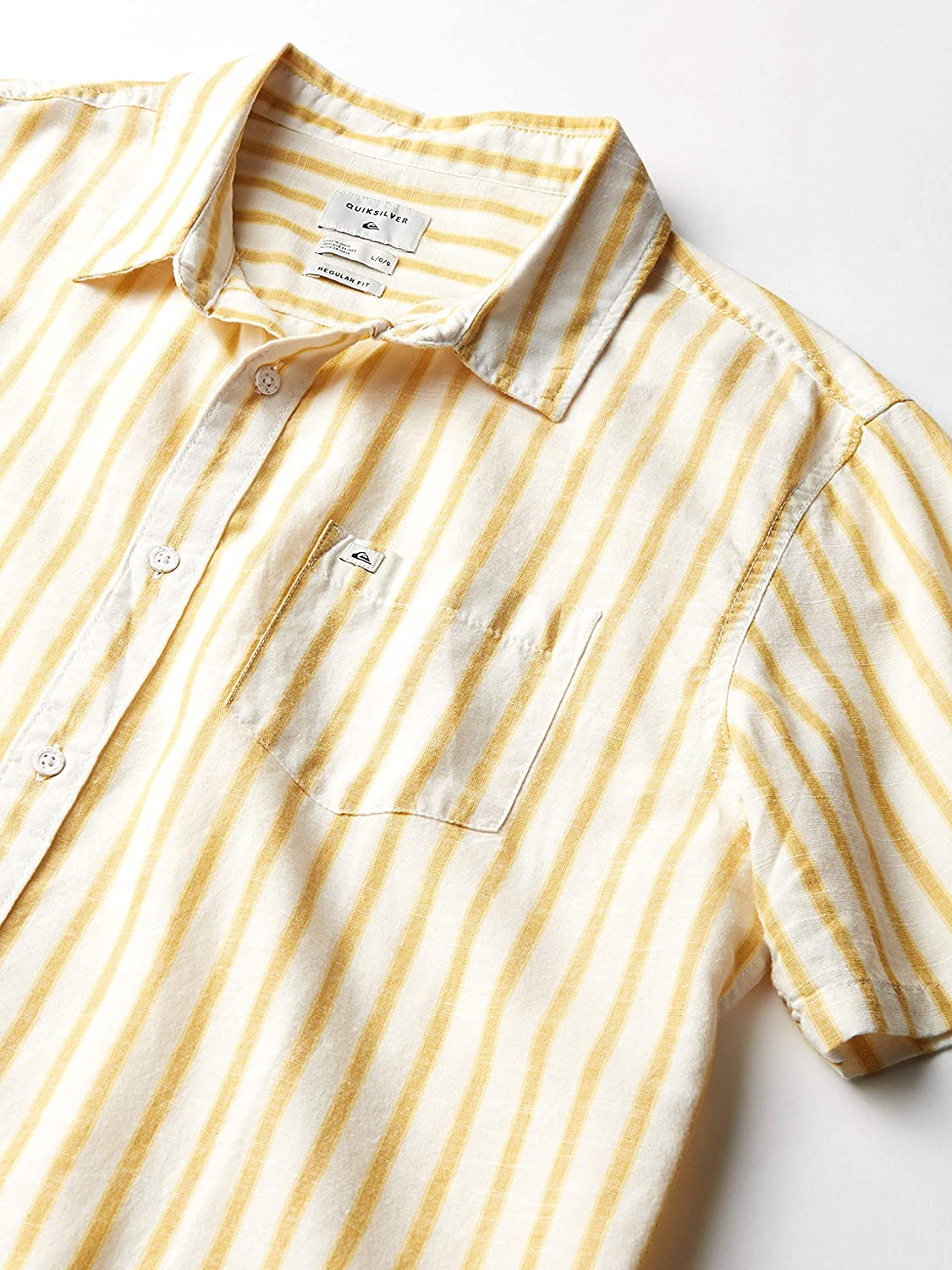 Quiksilver Mens Oxford Lines Woven