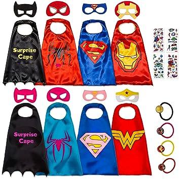 Disfraz De Superhéroes para Niño - Regalos De Cumpleaños ...