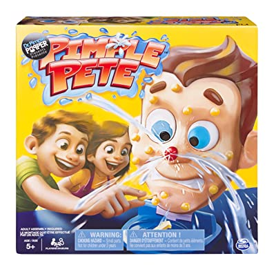 Pimple Pete Game Presented by Dr. Pimple Popper, Explosive Family Game for Kids Age 5 and Up: Toys & Games