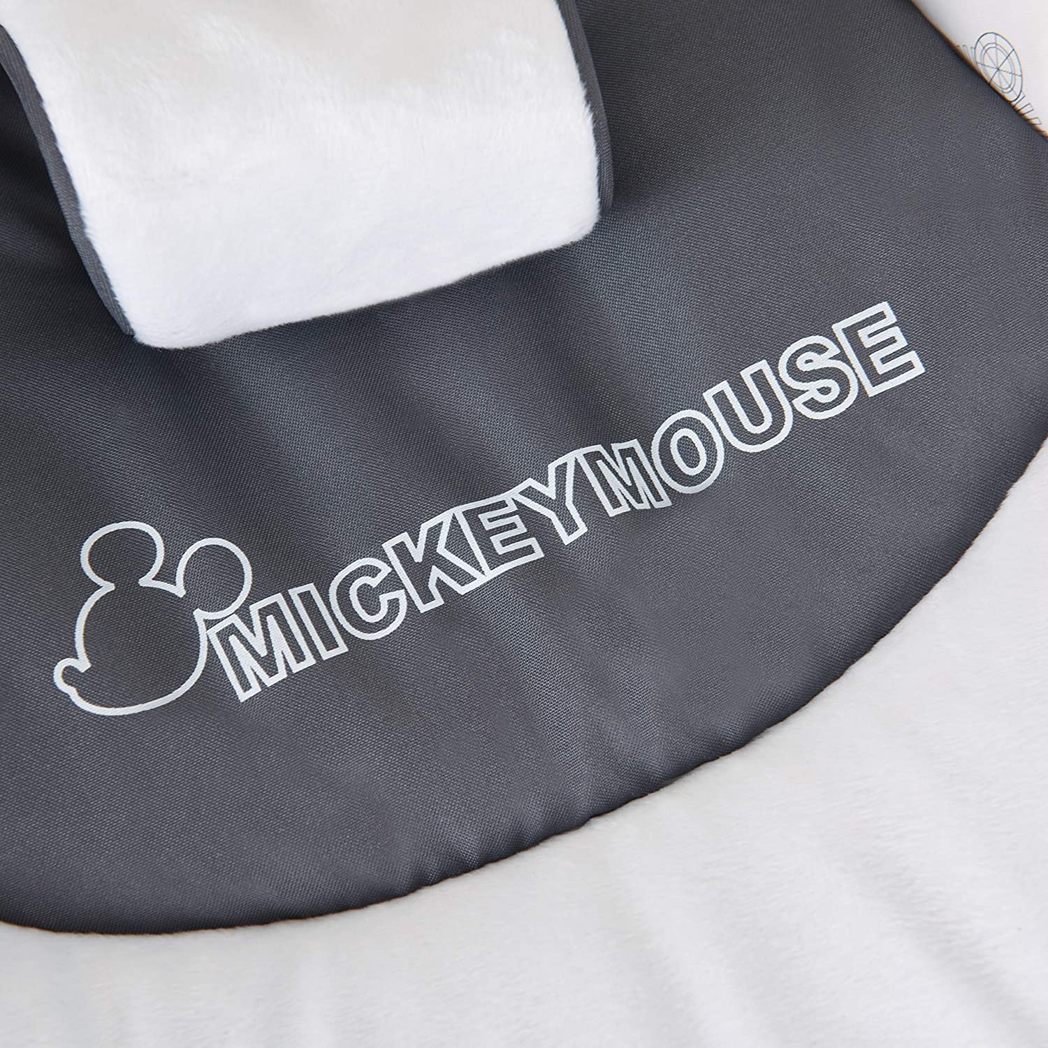 Adjustable Backrest Baby Rocker from Birth Up To 9 kg Hauck Leisure Carry Straps Mickey Cool Vibes Tilt-Resistant Bouncer with Removable Play Arch Swing and Chair Safety Harness