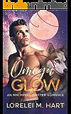 Omega Glow: An M/M Mpreg Shifter Romance (Crimson Cliff Pack Book 2)