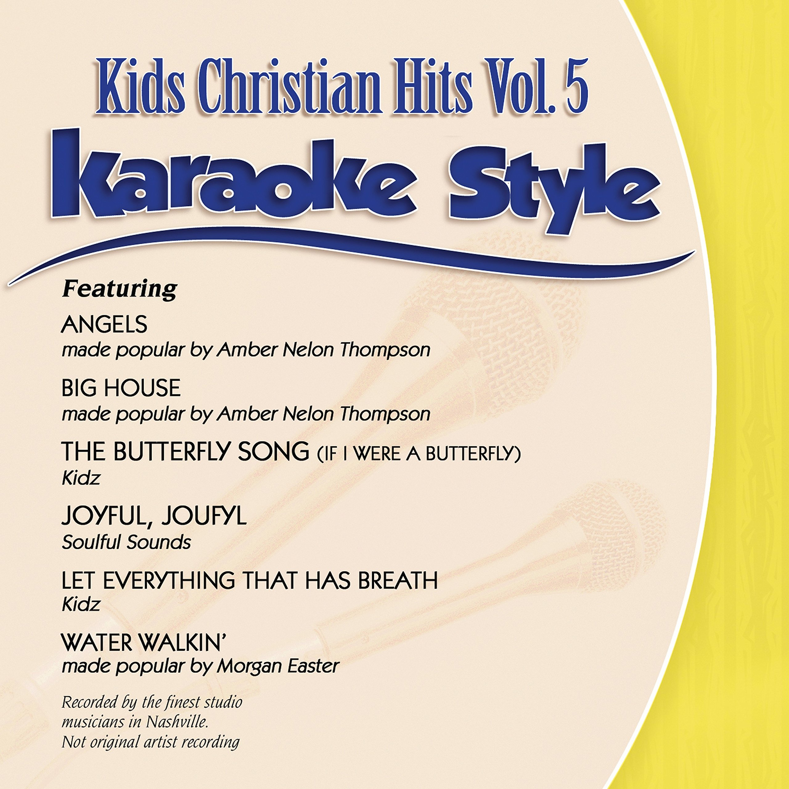 Karaoke Style: Kids Christian Hits Vol. 5 by Daywind