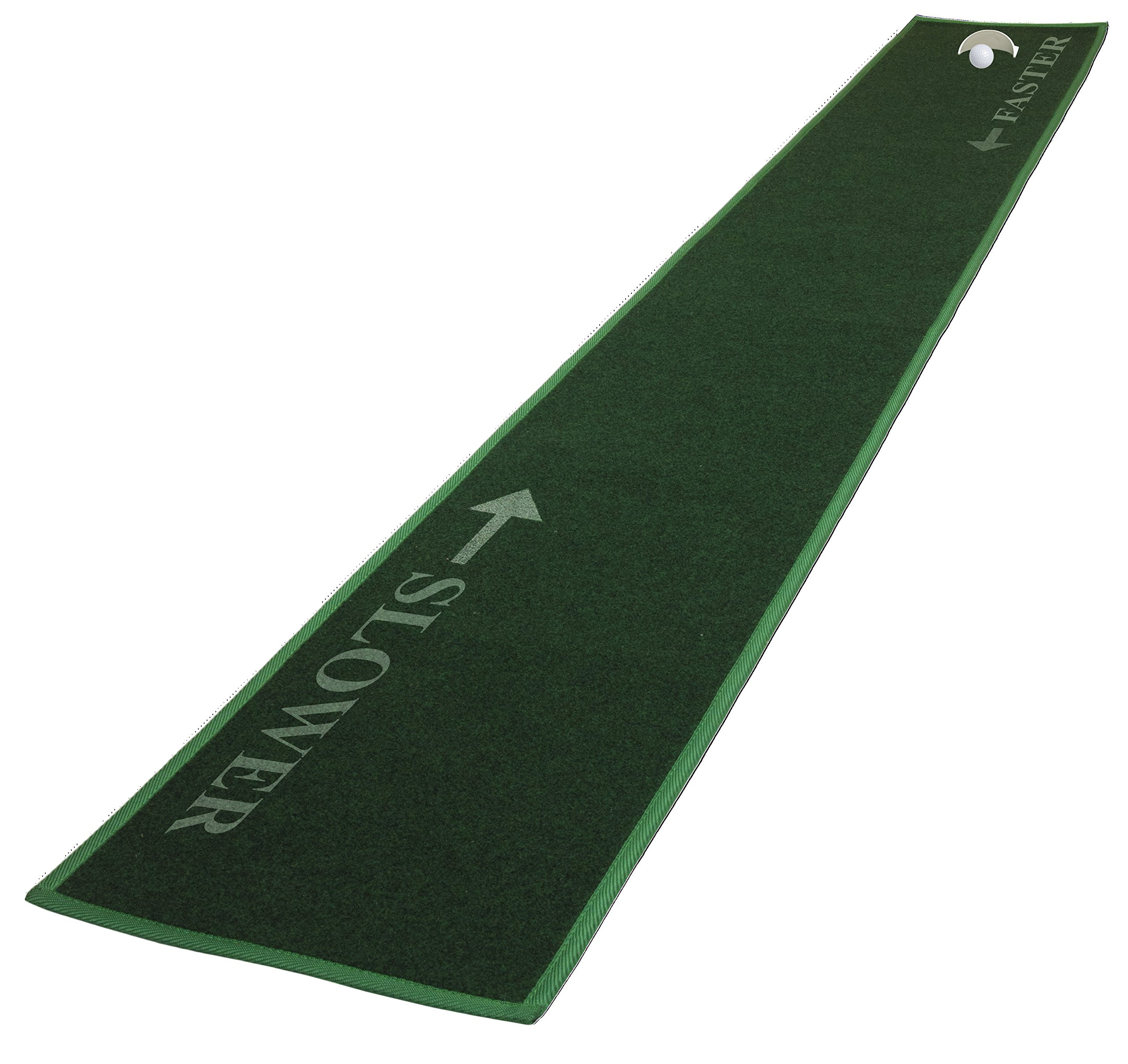 JEF WORLD OF GOLF 8-Foot Long 14'' Wide Putting Mat by JEF WORLD OF GOLF (Image #1)
