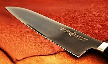 Sternsteiger-Cuchillo, diseño de estrellas de oro, acero de ...