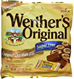 Werther's Original Sugar Free Candies, Caramel Chocolate, 2.35 Ounce (Pack of 4)