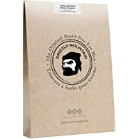 (Dark Brown) - Organic & Natural Dark Brown Beard Dye - Grizzly Mountain