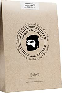 Organic & Natural Dark Brown Beard Dye