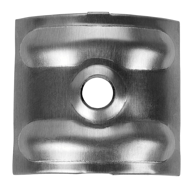 500 Kalotten Rotbraun RAL 8012 Aluminium 24/° f/ür Sinus Profil 76//18 Wellplatten Lichtplatten