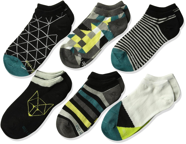 Stride Rite Boys' 6-Pack No Show Socks McCubbin SR70156