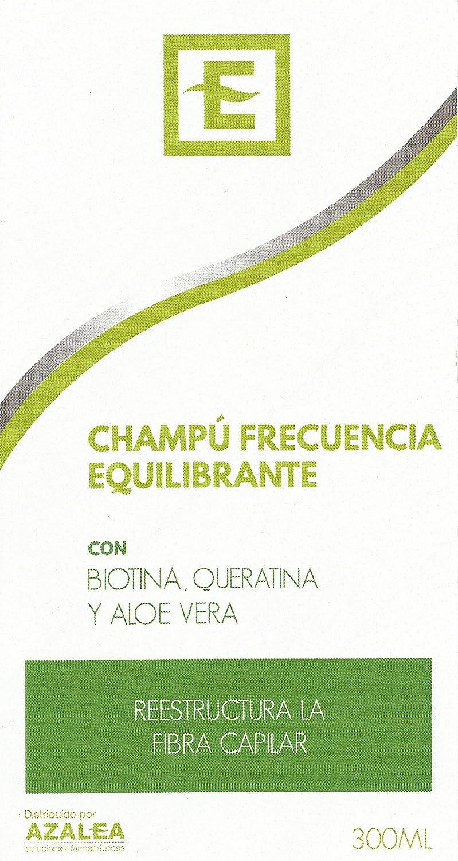 Champú Frecuencia Equilibrante con Biotina, Queratina y Aloe Vera 300ml