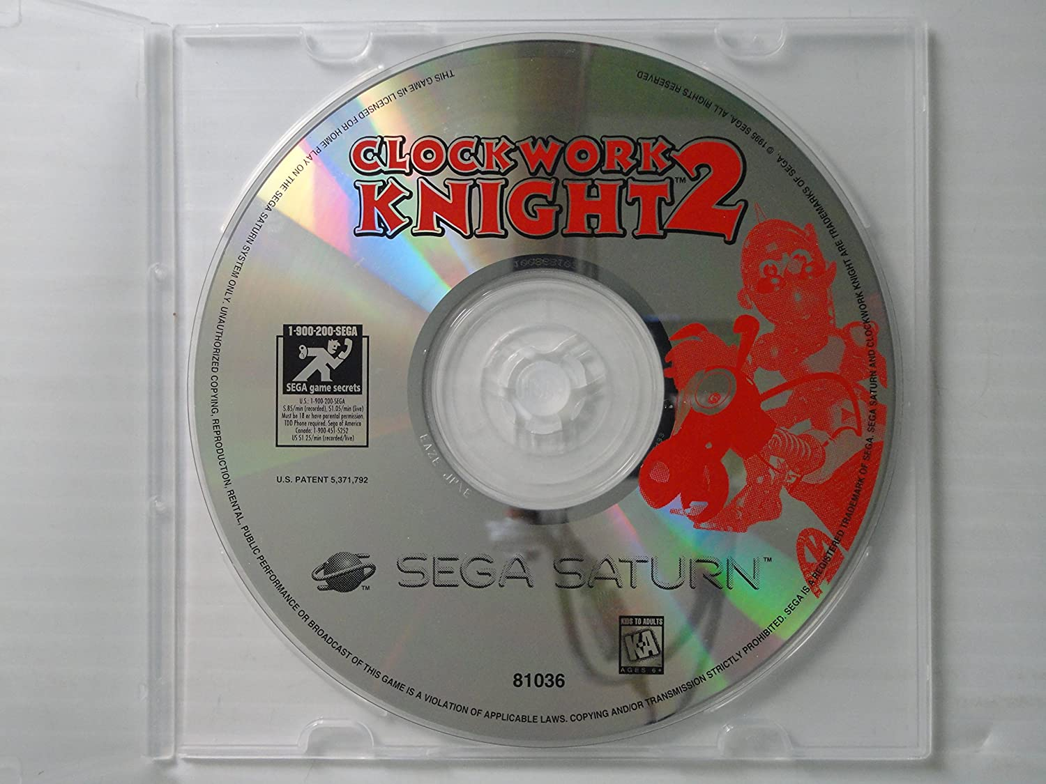 Clockwork Knight II - Sega Saturn