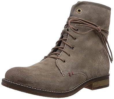s.Oliver 25225, Damen Combat Boots, Braun (PEPPER 324), 36