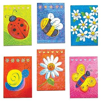 Baker Ross Minicuadernos de Notas Aromáticos (Paquete de 12) Ideales para el colegio y bolsas de cotillón