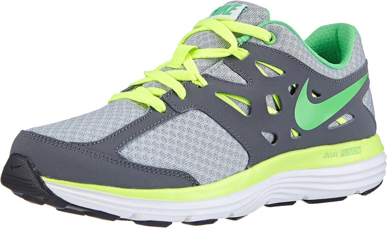 Nike Dual Fusion Lite, Zapatillas de running niños, Multicolor (Wolf Grey/Light Green Spark-Volt-Dark Grey), 38: Amazon.es: Zapatos y complementos