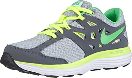 Nike Dual Fusion Lite, Zapatillas de running niños, Multicolor (Wolf Grey/Light Green Spark-Volt-Dark Grey), 38: Amazon.es: Zapatos y complementos