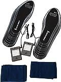 Ultrasport Semelle chauffante: semelles chauffantes pour chaussures brevetées avec semelles à insérer plates - Taille 36-48