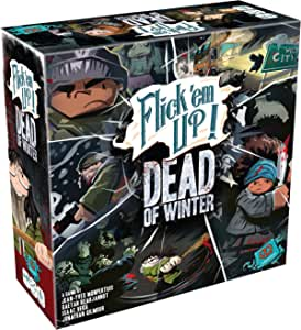 Flick 'Em Up: Dead of Winter - Plastic Version Tabletop Game