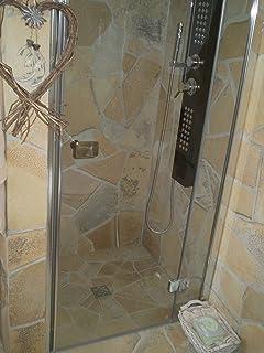 Mediterrane Natursteinplatten Polygonal Fliese Verblender ... | {Fliesen steinoptik wandverkleidung badezimmer 70}