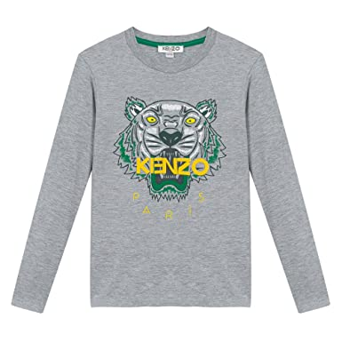 e9c6352a6f75 Tee Shirt Kenzo Kids Tigre Gris - Ado  Amazon.fr  Vêtements et ...