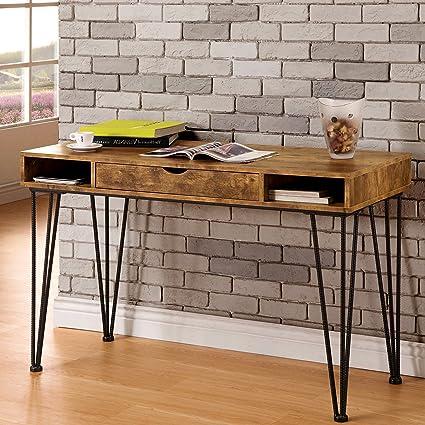 Amazon Com A Line Furniture Mid Century Industrial Rustic Design