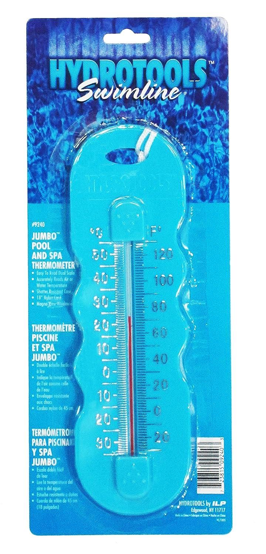 Hydrotools Swimline JUMBO PISCINA e Spa Termometro ROSA