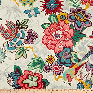 P Kaufmann Dailiang Twill Hibiscus Fabric by the Yard