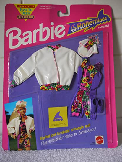 Barbie ROLLERBLADE Fashion #4850 (1991): Amazon.es: Juguetes y juegos