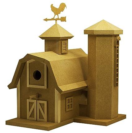 Tremendous Diy The American Barn Birdhouse Kit Interior Design Ideas Philsoteloinfo