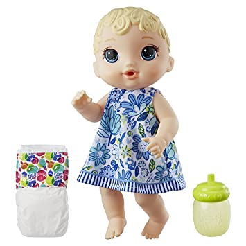 44cf4f3222 Boneca Baby Alive Hora do Xixi Hasbro Loira  Amazon.com.br ...