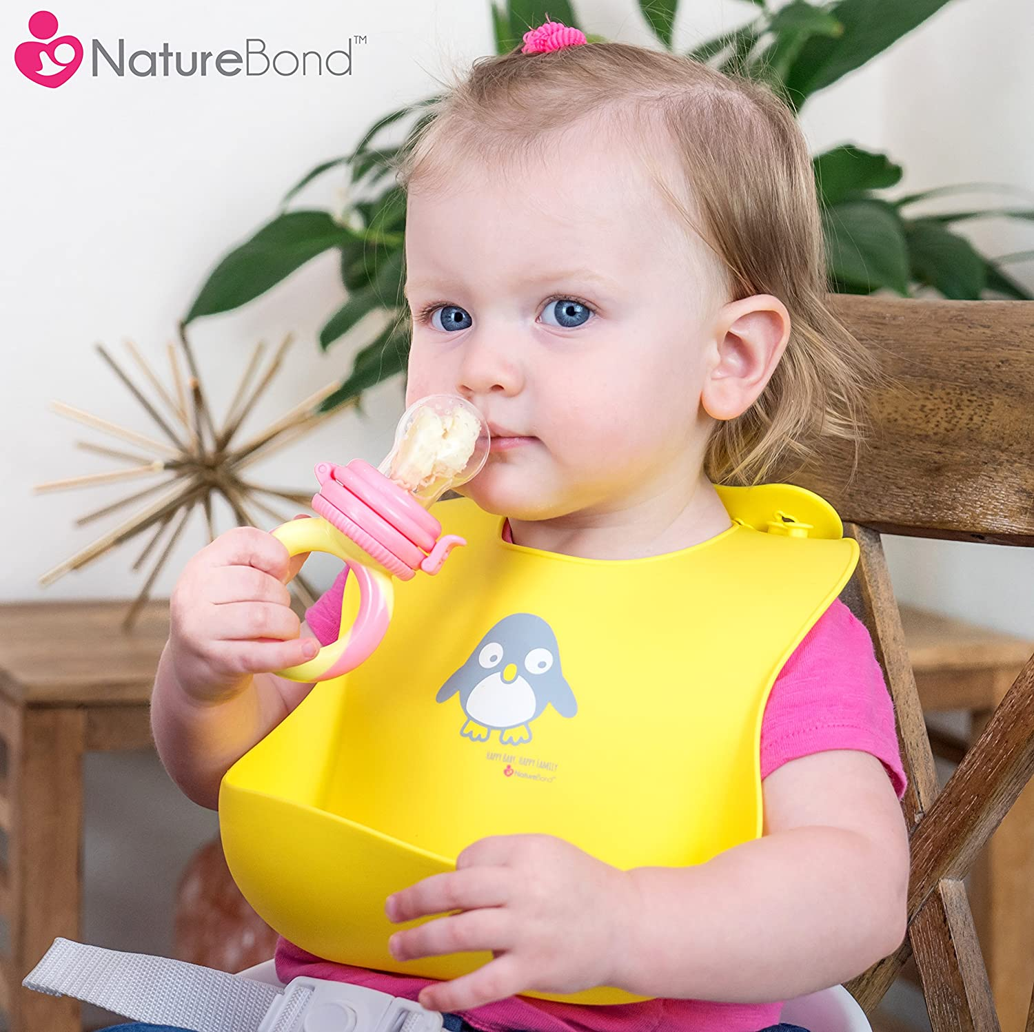 High Quality Adorable Perfect Baby Shower Gift Soft | Free Waterproof Pouch NatureBond Waterproof Silicone Baby Bibs for Babies /& Toddlers Unisex Wipes Clean Easily 2 PCs
