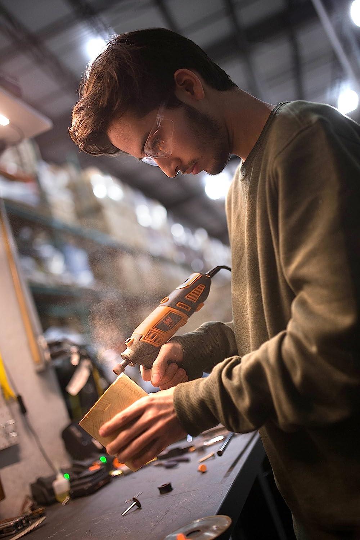 tallar 180 W Uolor velocidad variable 10.000-37.000 rpm para cortar grabar Herramienta multifunci/ón taladrar lijar herramienta giratoria con 180 accesorios fresar