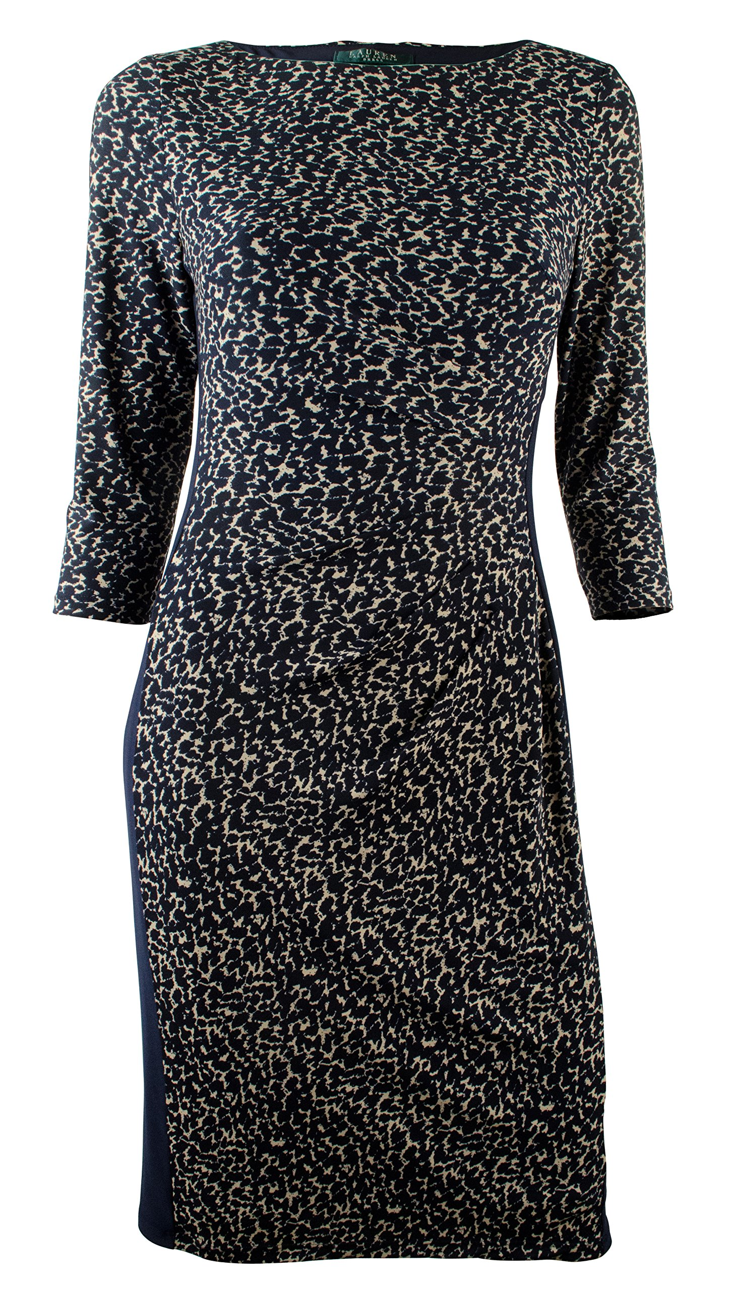 Ralph Lauren Women's Plus Print Bateau Neck Jersey Dress-BtLh-22W by RALPH LAUREN (Image #1)
