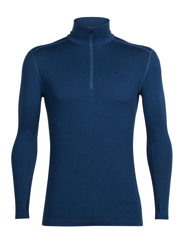 Icebreaker Herren Tech Top Long Sleeve Half Zip Funktionsshirt