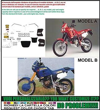 kit adesivi decal stikers gilera rc 600 1989 ability to customize rh amazon co uk Gilera 150 Gilera Runner