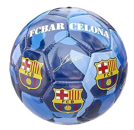 Balon FC Barcelona Camuflaje Azul: Amazon.es: Deportes y aire libre