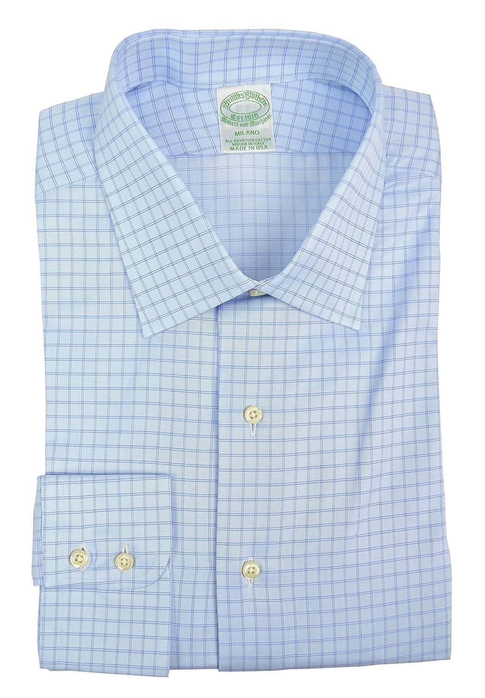 BROOKS BROTHERS Milano - Camisa de algodón Egipcio para Hombre ...