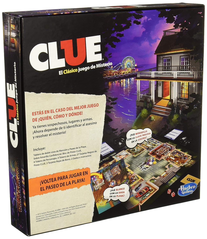 Hasbro Gaming Juego Clue A5826