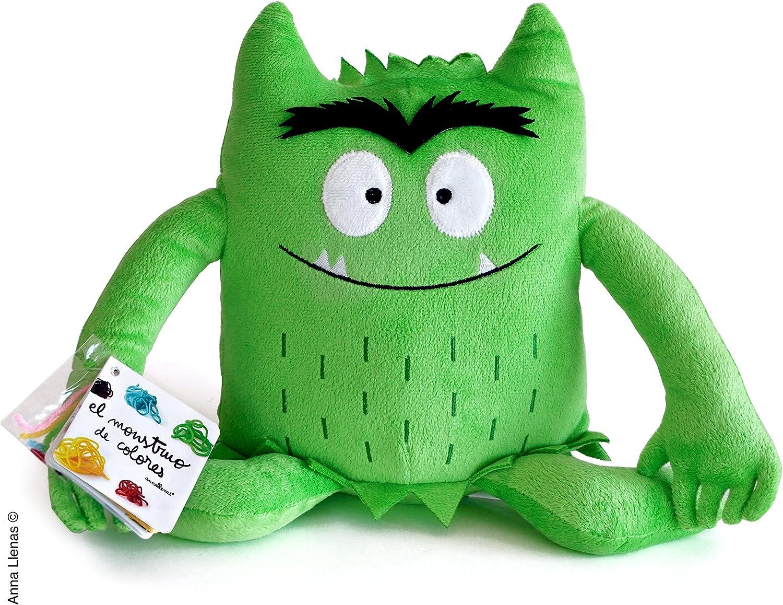 Monstruo De Colores Peluche, color Verde: Llenas, Anna: Amazon.es ...