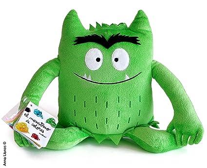 Flamboyant Monstruo De Colores Peluche Verde