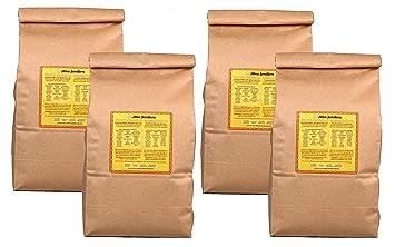 ALMA SEMILLERA White Corn Masa Harina - Non-GMO, Gluten Free, Vegan, Fine Texture (5lb - 4 Pack)