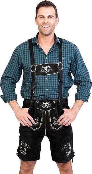 da563ceaa95f0 Almwerk - Lederhose (traje tradicional bávaro) para hombre