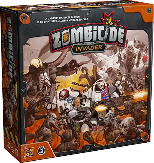 Invader Deck Holders Board Games CMON Miniatures NEW ENGLISH Zombicide
